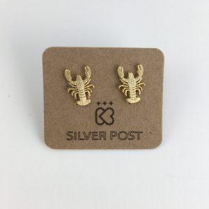 Crawfish Earrings Gold