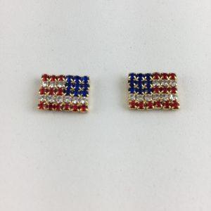 Flag Earrings
