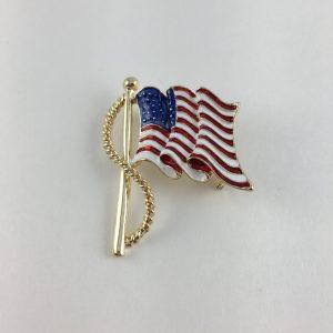 Flag Pin 2 UB1686